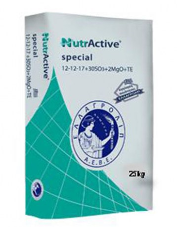 NUTRACTIVE SPECIAL 12 - 12 - 17 + 2 Mg + ΙΧΝ