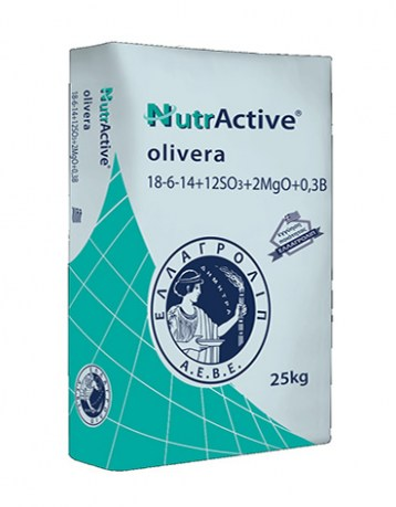 Nutractive olivera 18-6-14+2Mg+0,3B4